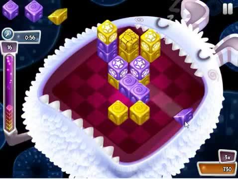 Innovative match-three gameplay