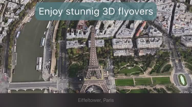 3-D flyovers