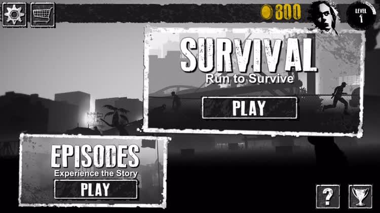 Survive two game modes