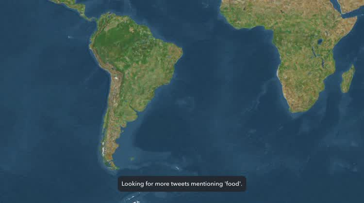 View the map while it searches