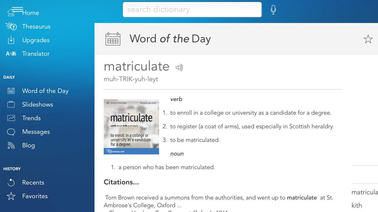 Dictionary.com: English Words