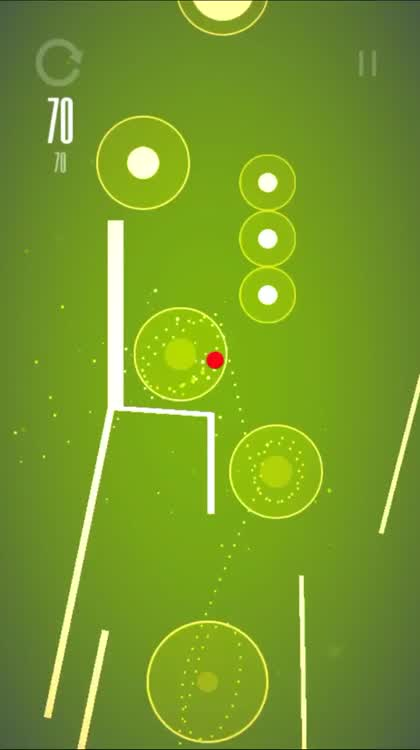 Climb higher as higher with the red ball