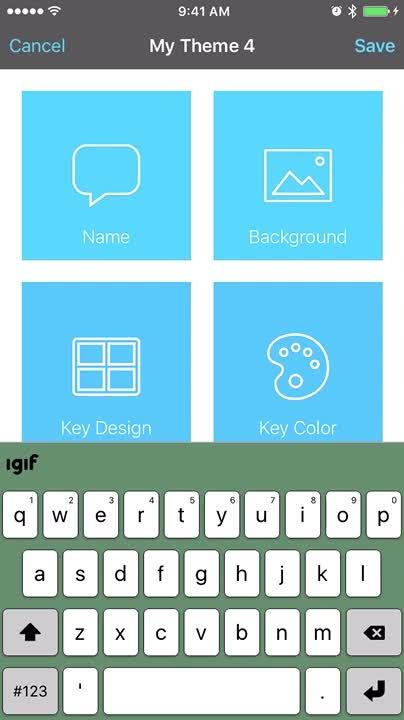 Create a new theme_key design