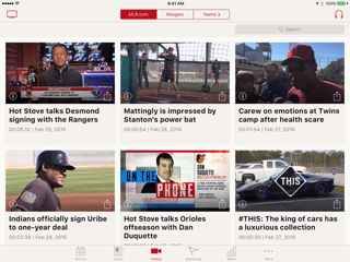 MLB com At Bat