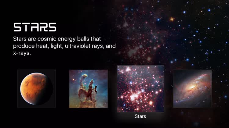 Learn and explore  - 00001 - Explore Space with These Apple TV Apps