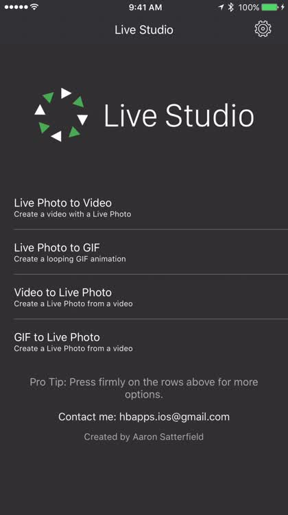 Videos to Live Photos