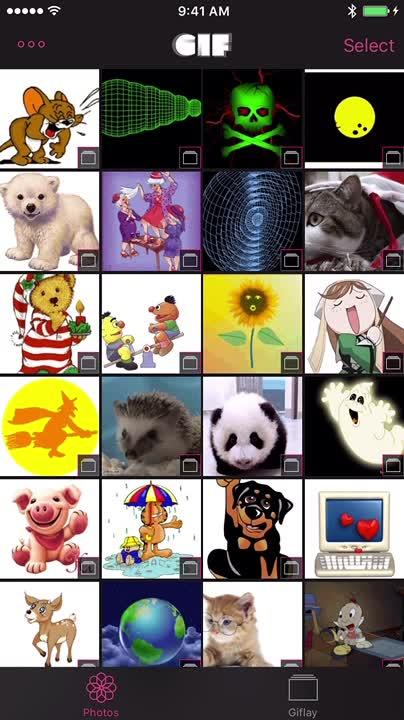Organize your GIF albums