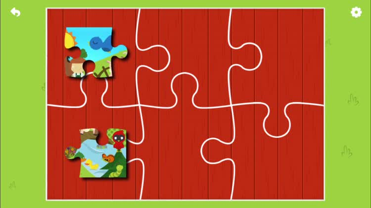 Solve the puzzle and bring the farm to life