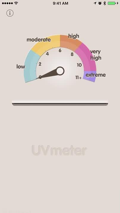 Check UV index