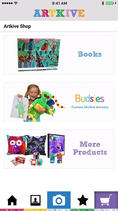 Turn your artwork or other images into books and a variety of other great gifts