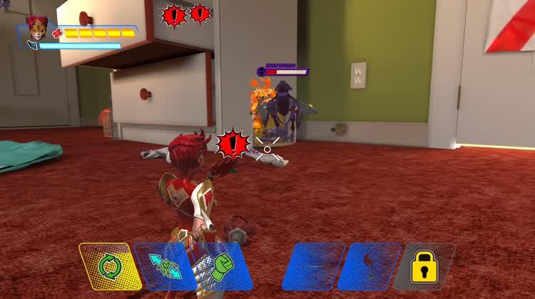 Fantastic Touch Combat