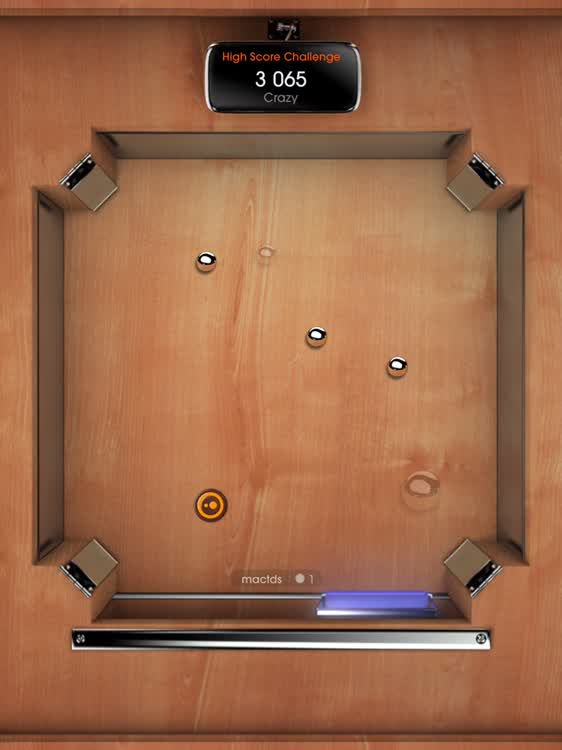Game Board Style Pong