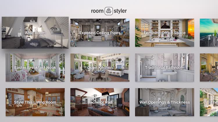 Roomstyler for apple tv by for Roomstyler com