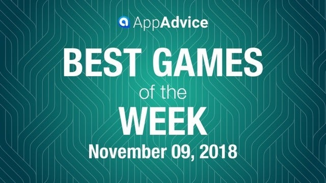 Best Games of the Week Nov. 9, 2018