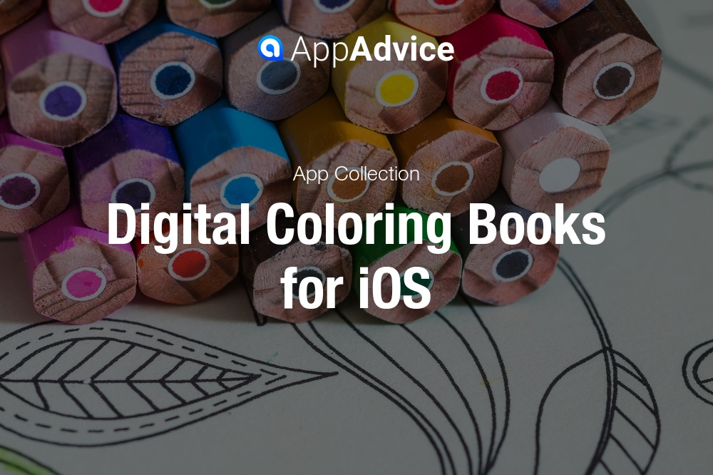 Creative digital coloring books for iOS