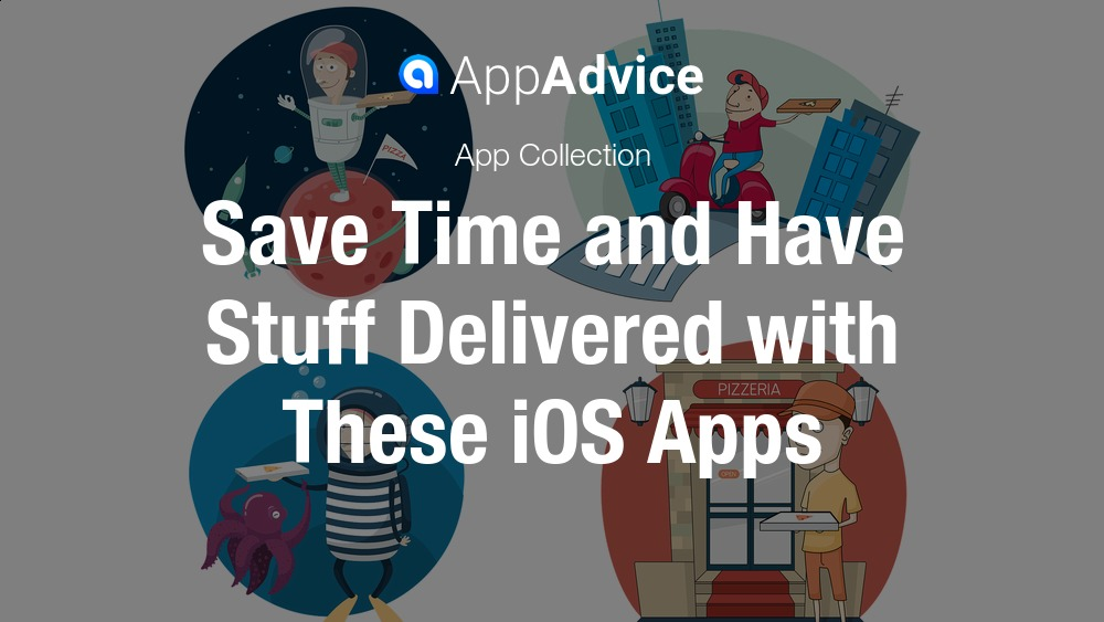 Delivery service apps for iOS