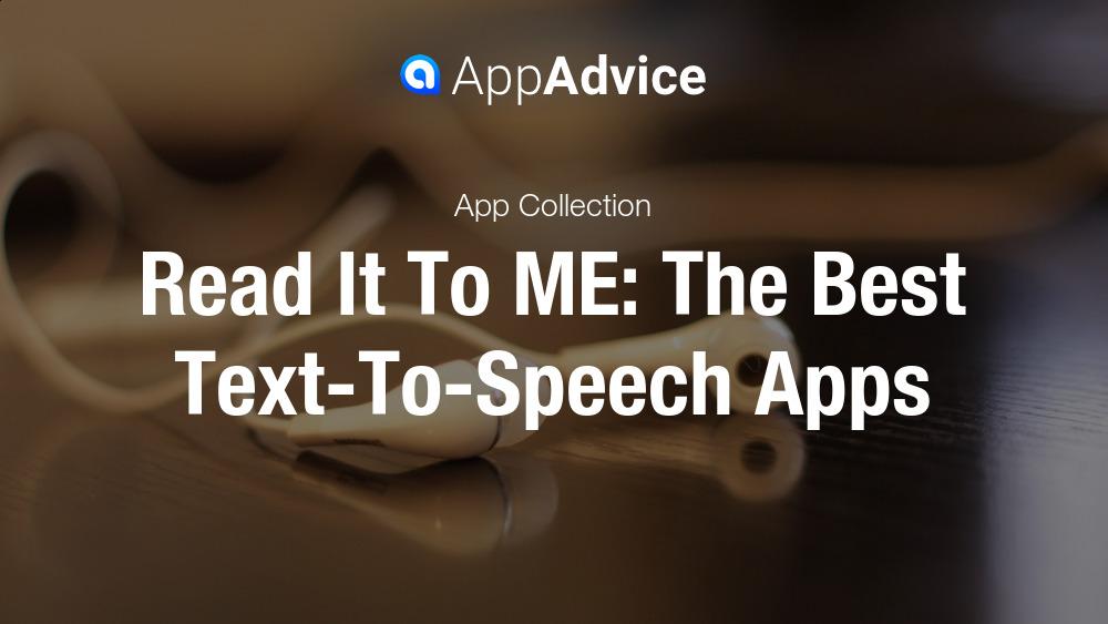 Text to speech pdf app ipad