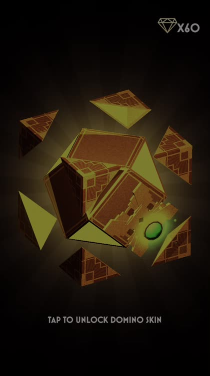 Unlock dominoes