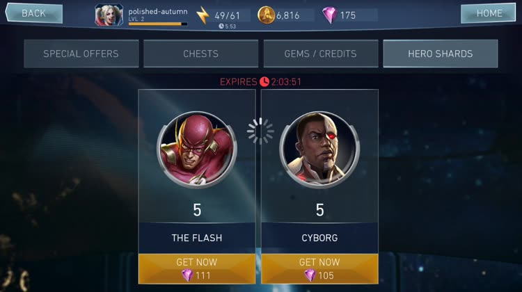 Unlock DC favorites