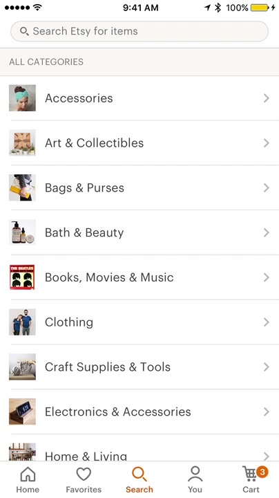 Search and shop