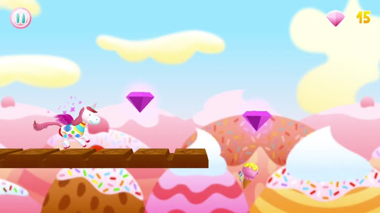 Go on a magical adventure and collect crystals on the way