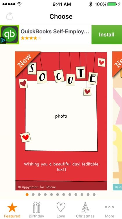 Select your photo card