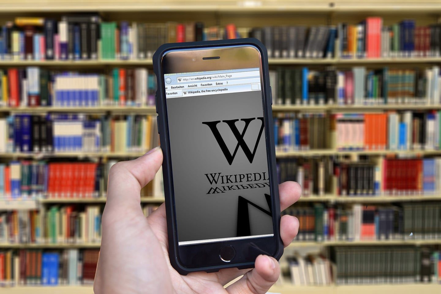 wikipedia iphone books