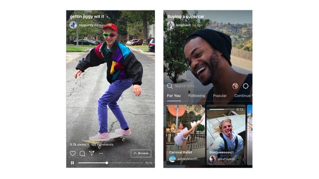 Instagram Takes on YouTube With the New IGTV App