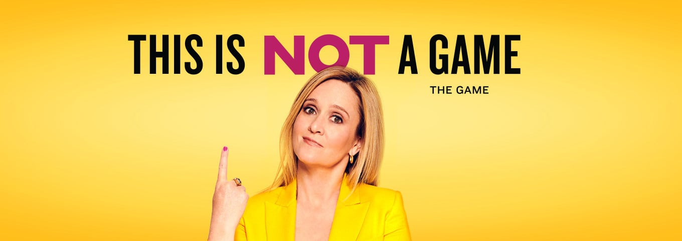 This is Not a Game by Sam Bee is a Political HQ Trivia
