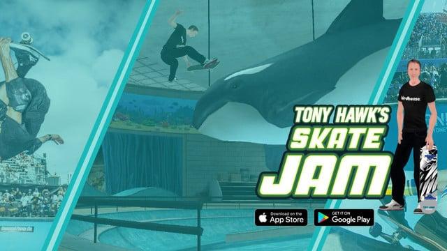 Tony Hawk's Skate Jam Flips its Way Onto the App Store