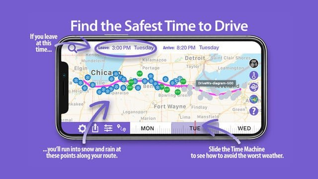 Drive Weather Helps Makes Any Road Trip Safer