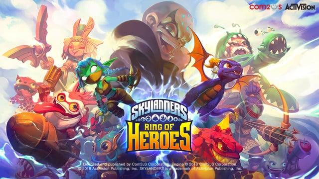 Skylanders Ring of Heroes Brings the Popular Franchise to a Mobile RPG