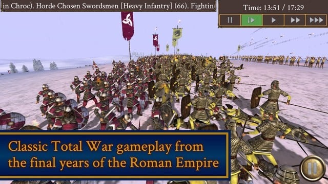 Rome: Total War - Barbarian Invasion Arrives for iPhone