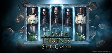 Take a Gamble on the New Game of Thrones Slots Casino