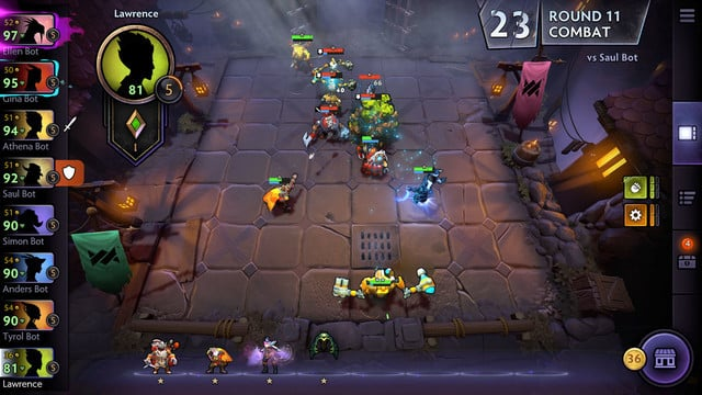 Valve's Dota Underlords Arrives on the App Store With Strategy Battle Action