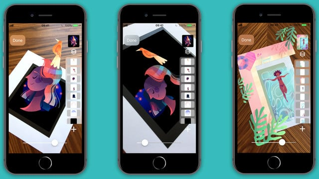 Bring Your Layered Art to Life in Slide AR