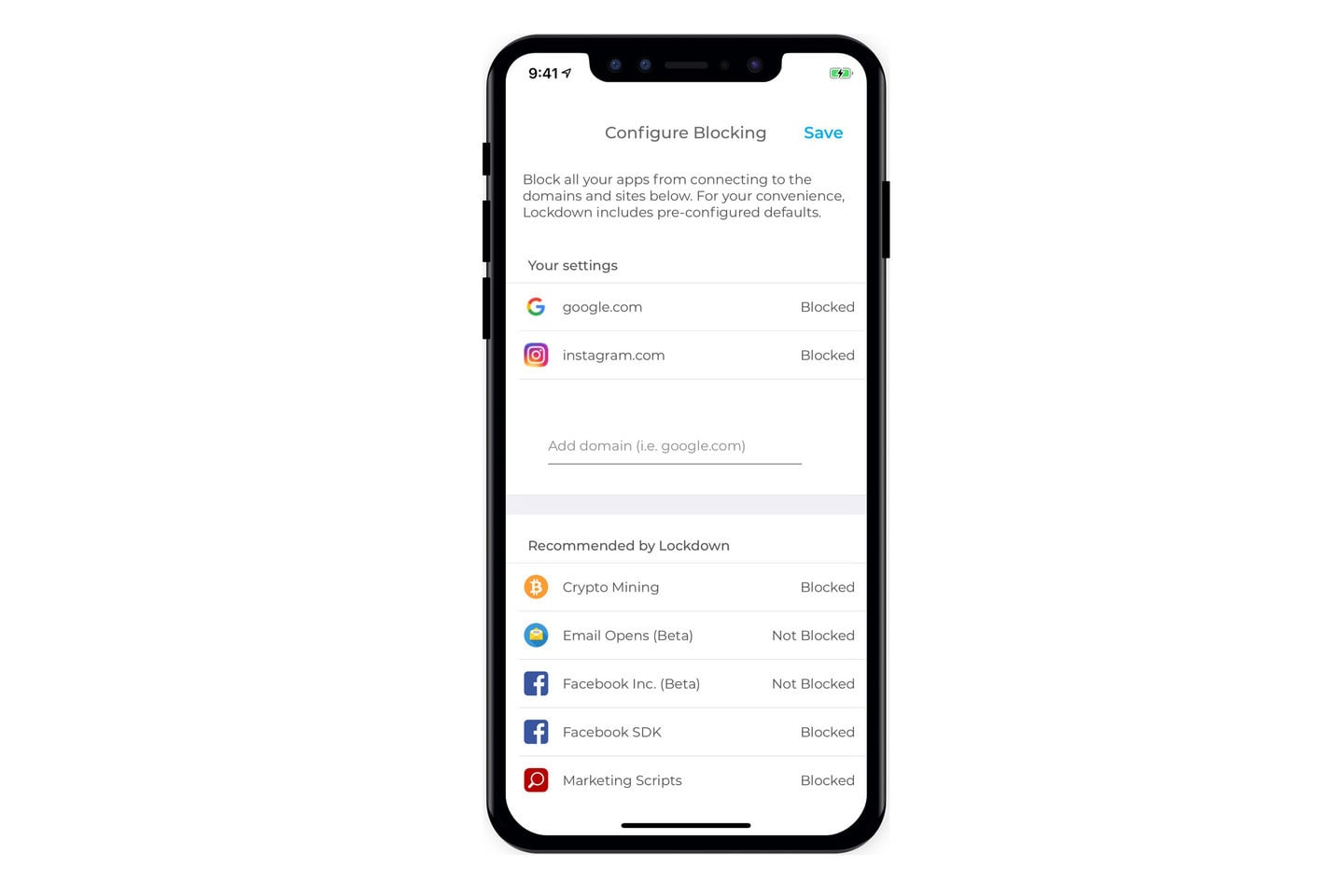 Lockdown Provides a Free and Secure Firewall for Your iPhone