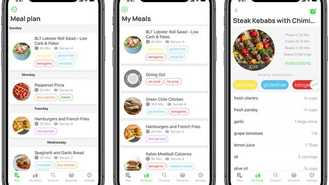 Carte Makes Customizable Meal Planning and Shopping Easy