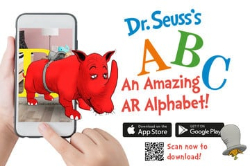 Dr. Seuss's ABC Uses Augmented Reality to Help the Alphabet Come to Life