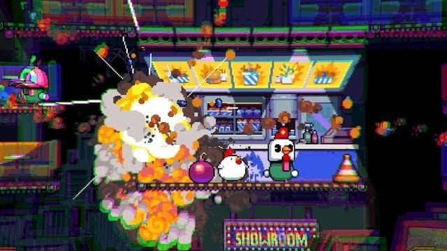 Bomb Chicken is Tons of Explosive Fun