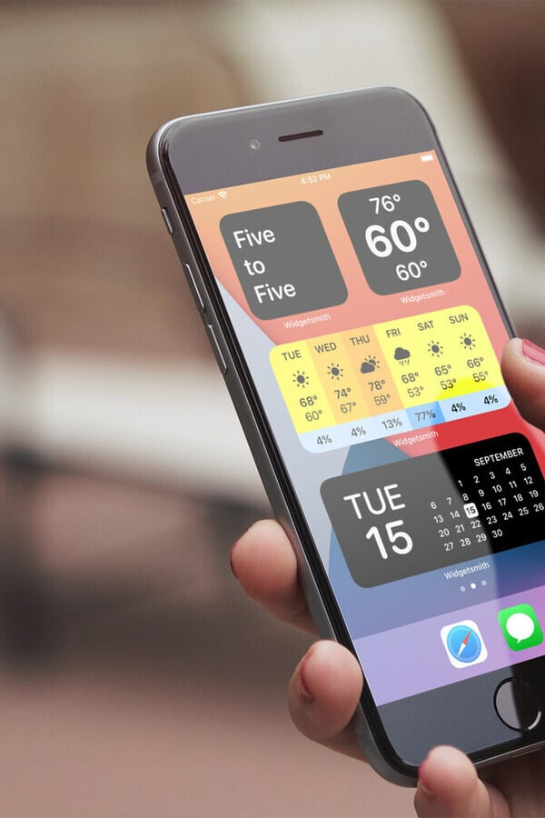 Customize Your iPhone Home Screen With the Best Widget Apps