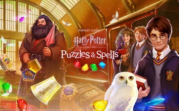 Fly Into the Wizarding World in the New Match-3 Puzzler Harry Potter Puzzles & Spells