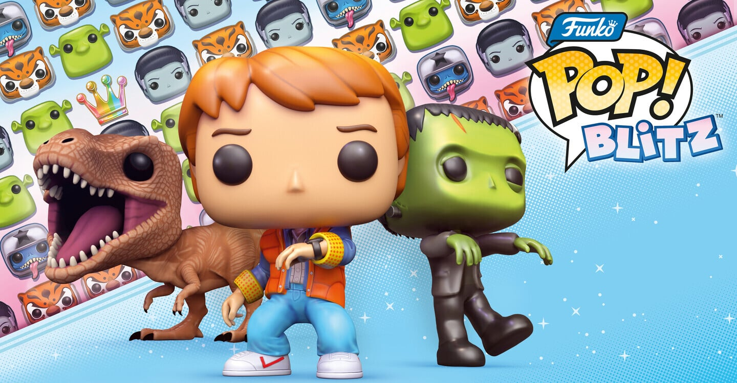 Dive Into Pop Culture in the New Match-3 Puzzler Funko Pop Blitz