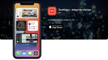 Bring YouTube to Your iPhone Homescreen With YouWidget