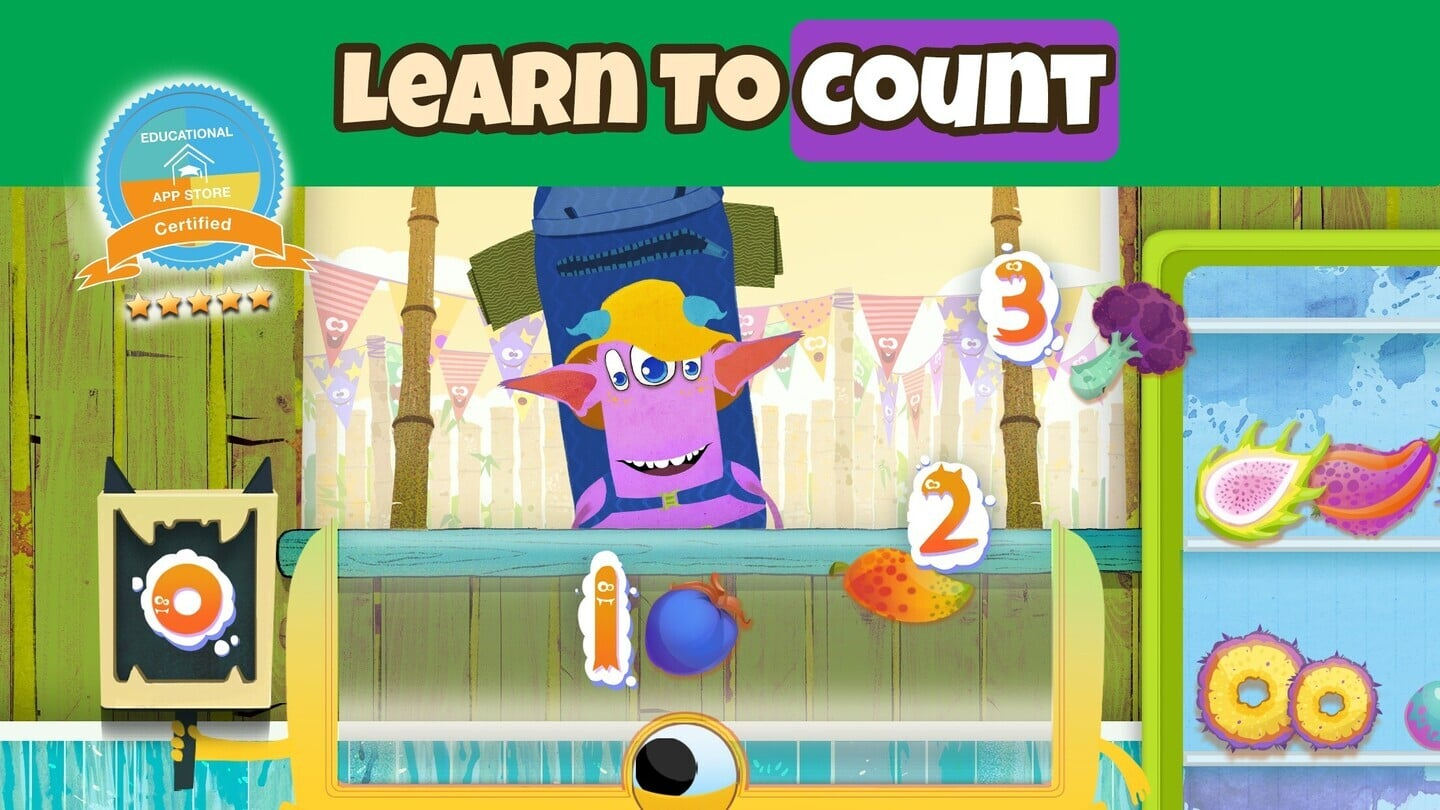 Help Young Kids Learn to Count With Numberita