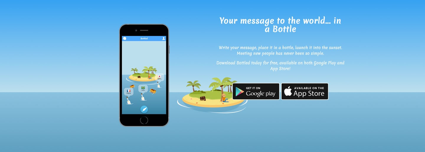 bottled app what to write