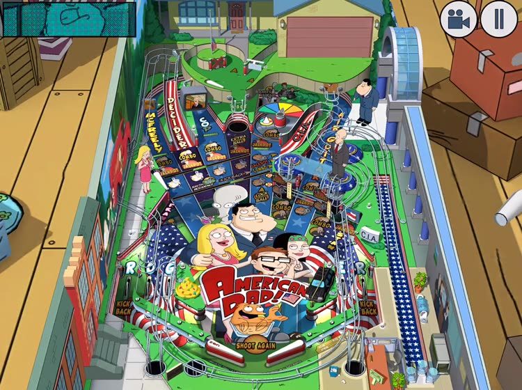 American Dad! Pinball by ZEN Studios Ltd