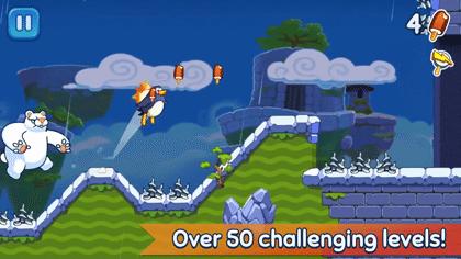 Hopping Penguin: Ice Cream Adventure