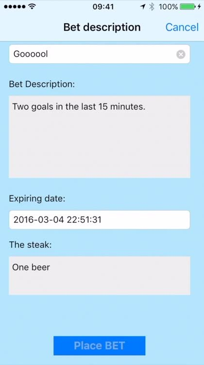 Bet ideas for friends
