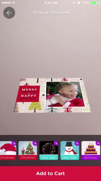 Mage cards custom augmented reality greeting cards by mage inc the worlds first app that makes greeting cards with augmented reality technoligy surprise your family and friends with your video plays on a paper m4hsunfo